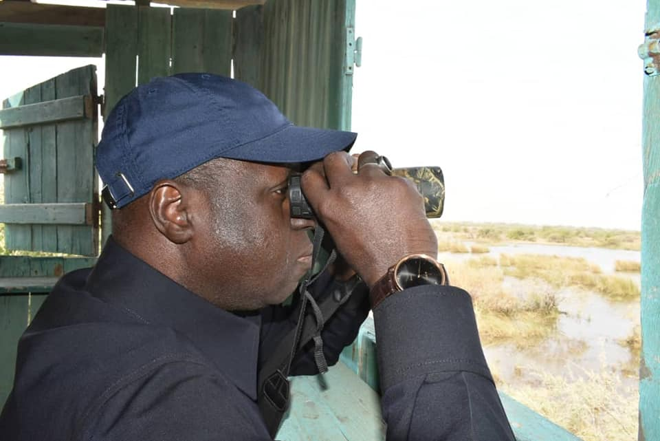 Environnement – Oiseaux migrateurs – Abdou Karim Sall à Djoudj