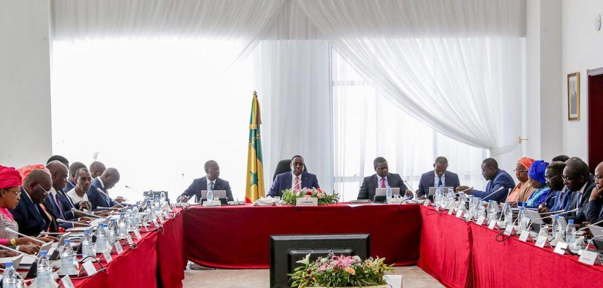 Conseil des ministres – Les grands chantiers de Abdou Karim Sall