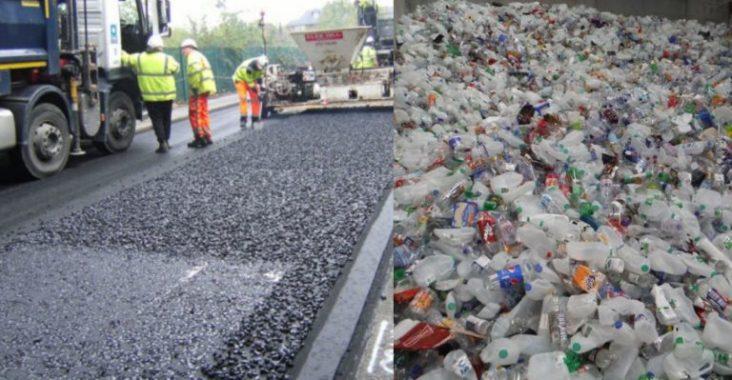 Environnement – Des bouteilles en plastique pour fabriquer des routes qui durent 10 fois plus que l'asphalte
