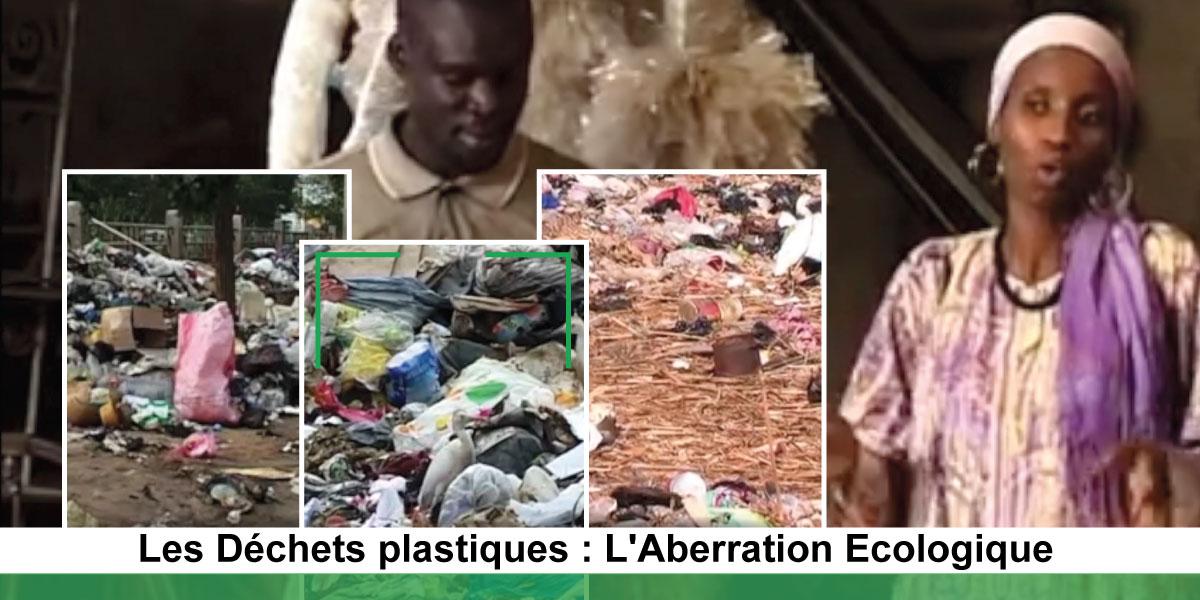 Péril plastique à Dakar: 130.000 tonnes de déchets produits rejetés par jour
