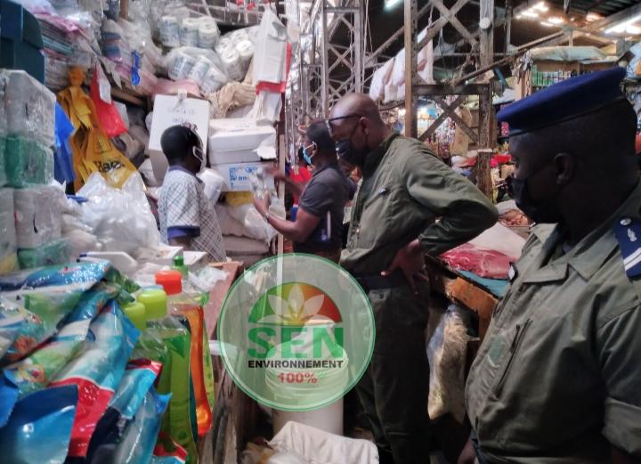 Application de la loi sur le plastique – 62 tonnes saisies pour 73 opérations