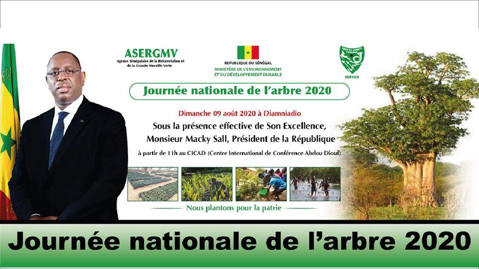Bande annonce Journée nationale de l'Arbre 2020 (Français et Ouolof)