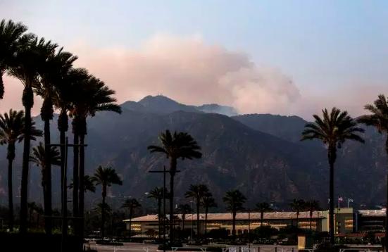 Etats -Unis – La fumée de ses incendies atteint l'Europe