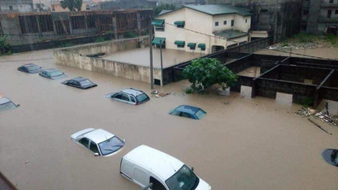 Forte pluie: Dakar et Thiès sous les eaux