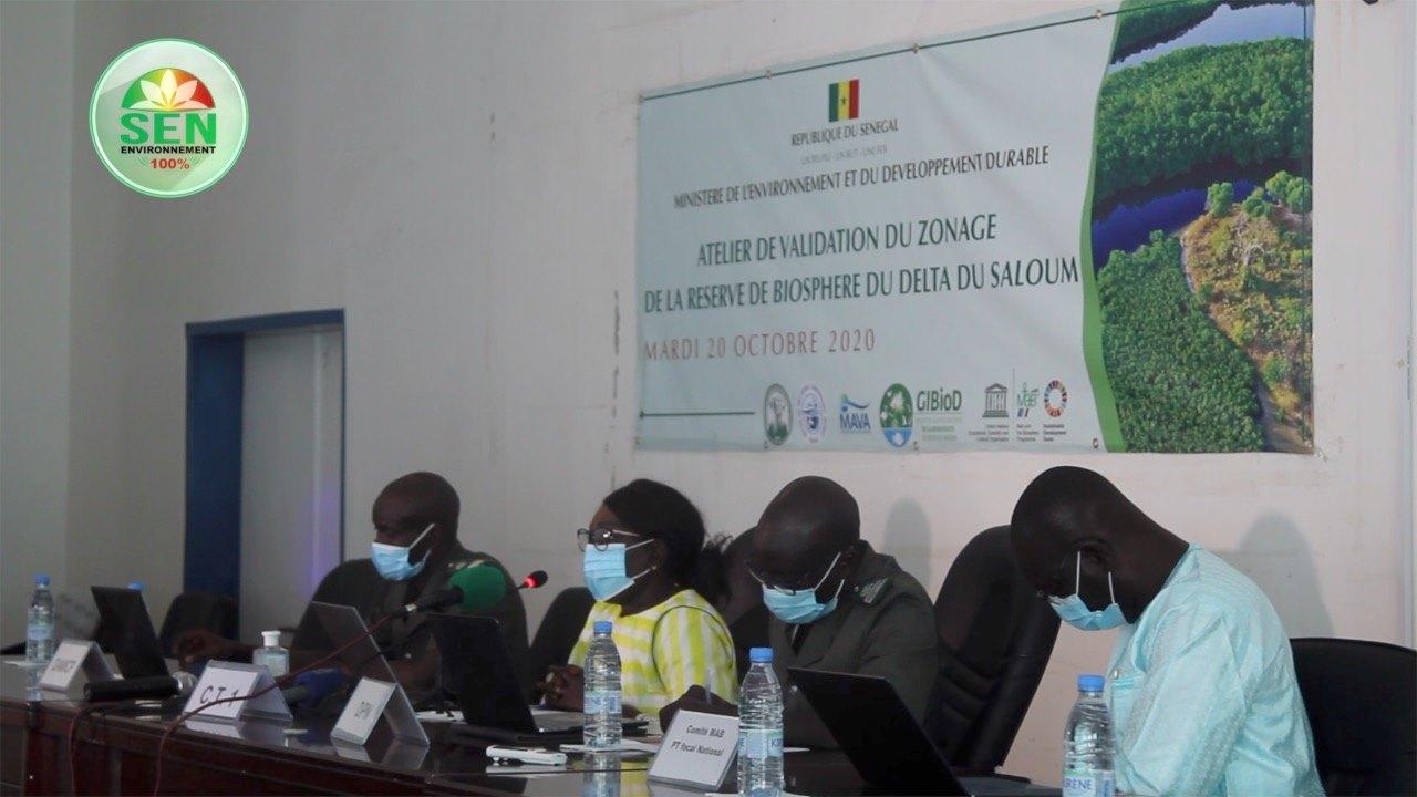 Validation du nouveau plan de zonage de la Réserve de biosphère du Delta du Saloum