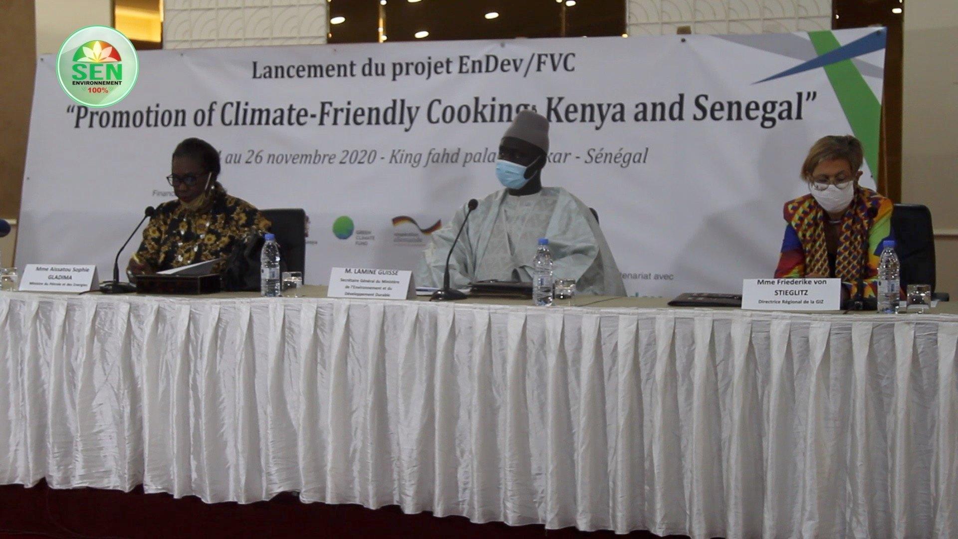 Vidéo/ Lancement du Projet de Promotion d'une Cuisson respectueuse du Climat