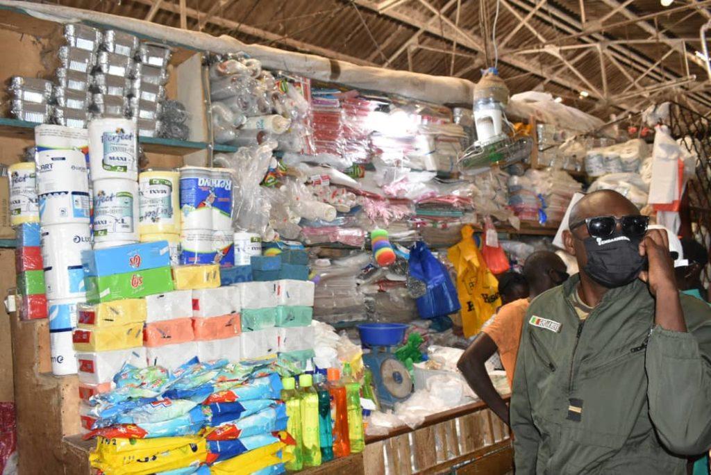 An 1 de la loi sur le plastique: Le MEDD procède à l'incinération des produits saisis ce mardi