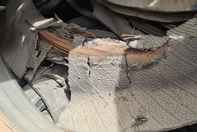 Recyclage: Yaye Fatou Fall transforme de vieux pneus en matériaux de construction