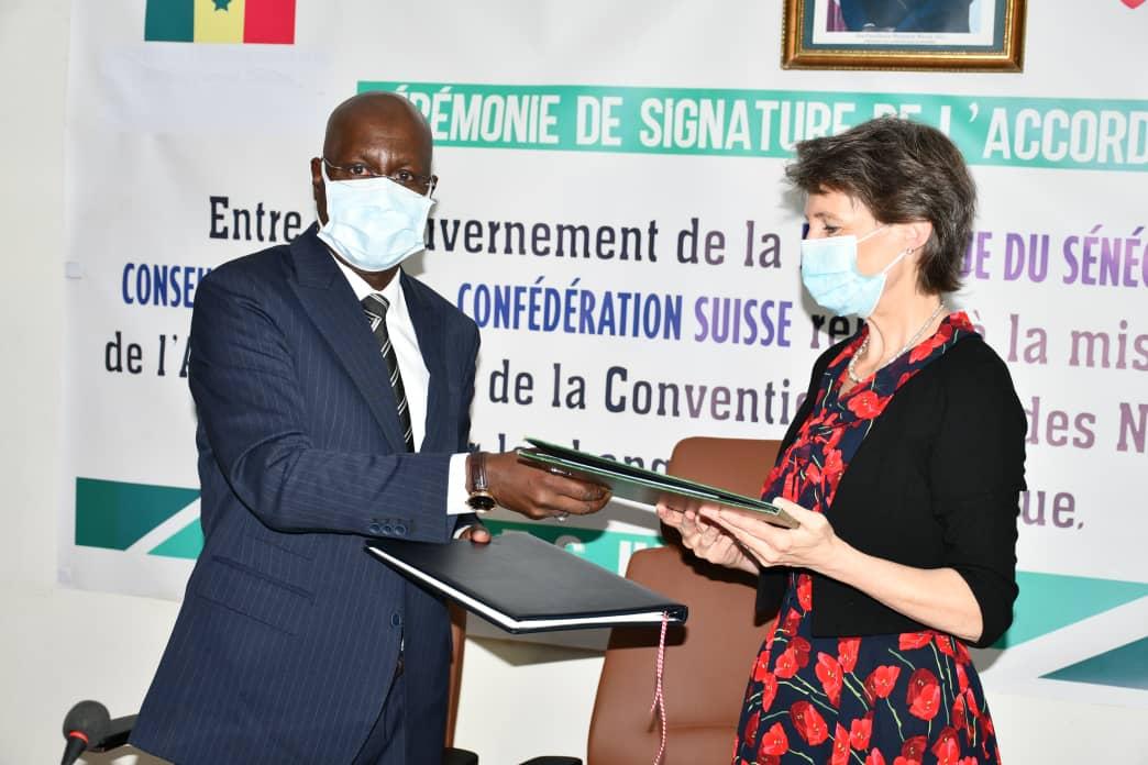 Mise en œuvre de l'Accord de paris: Le Sénégal et la Suisse renforcent la coopération