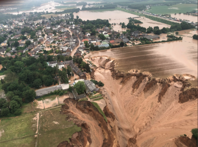 Inondations dévastatrices : plus de 100 morts en Allemagne et en Belgique