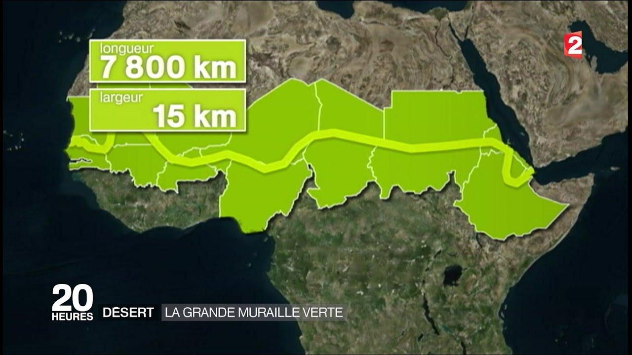 Une fragile muraille verte en Afrique
